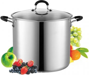 Best 12 Quart Stainless Steel Cook N Home Pot Reviewed