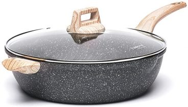 Best Carote Granistone Non-Stick Jumbo Saute Pan Review