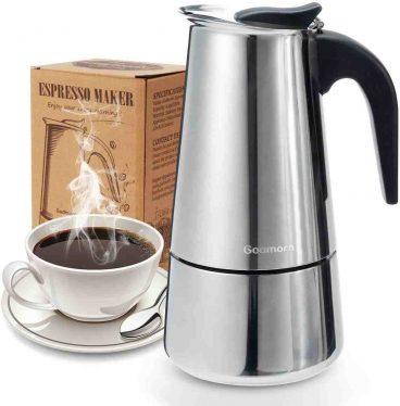 Best Godmorn Classic Stainless-Steel Espresso Moka Coffee Pot Review