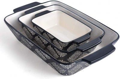 Best Original Hearts Black Casserole Baking Cookware(Set of 3) Review
