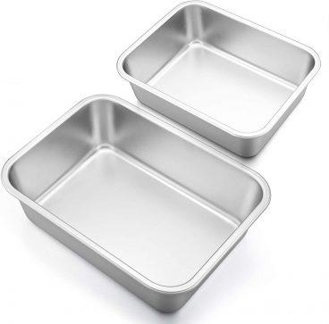 Best P&P Chef Stainless-Steel Deep Lasagna Pan Set Review