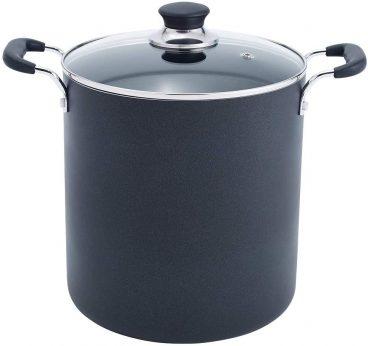 Best Quart Aluminium Non-Stick Black Stock Pot Reviewed