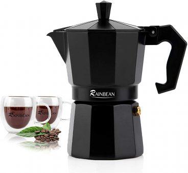Best Rainbean Black Aluminium Espresso Porcelator Review