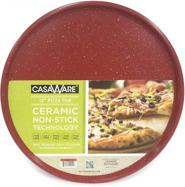 CasaWare 12-Inch CarbonSteel Pizza Pan review