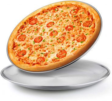 E-Far 13.5-Inch Stainless steel Pizza Pan Review