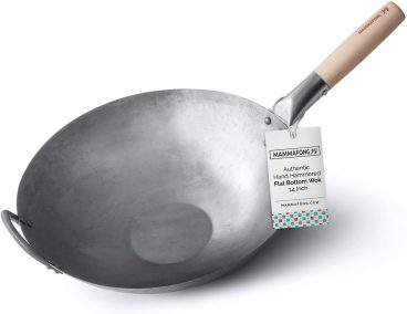 Best Mamafong Flat-Bottomed Carbon-Steel Wok Review